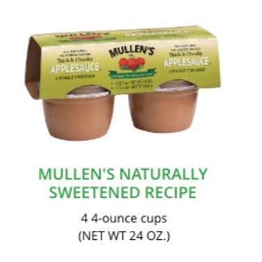 Mullen's Naturally Sweetened Recipe