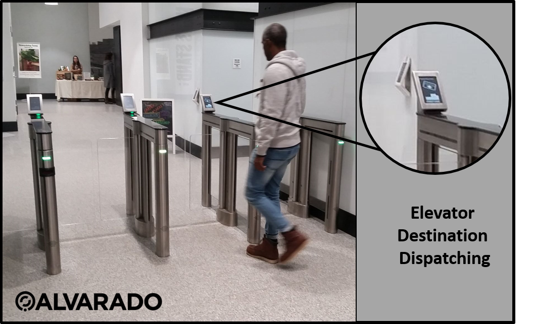 Elevator Dispatch Speedgate