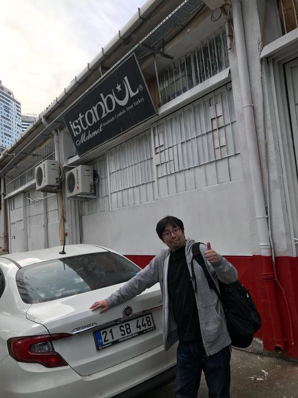 イスタンブール・メメット工房は東大阪の工場地帯風wの場所にあります。