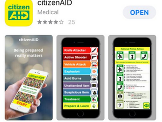 Version 2 of citizenAID - Number 1 trending medical APP