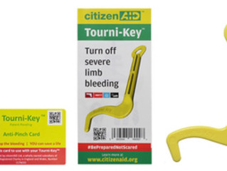 citizenAID Officially Launches 'Tourni-Key'