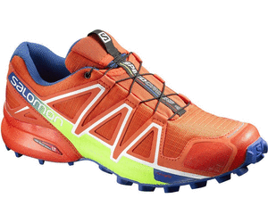 Salomon SpeedCross 4 Tomato Red Blue Yonder