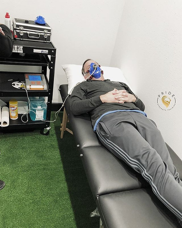 A Resting Metabolic Rate assessment is d