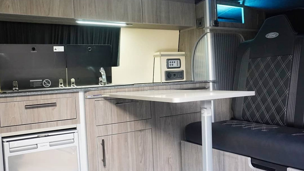 Campervan kitchen units
