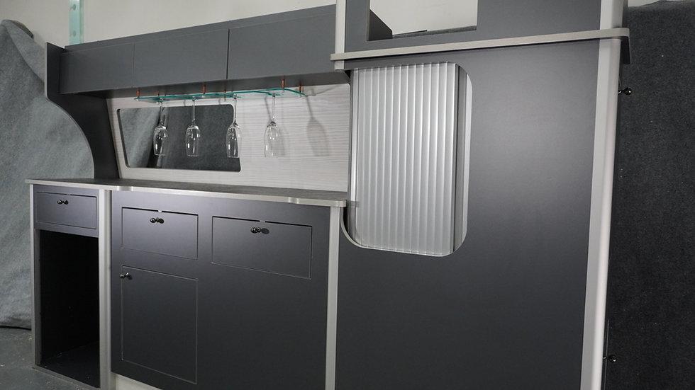 Campervan kitchen units