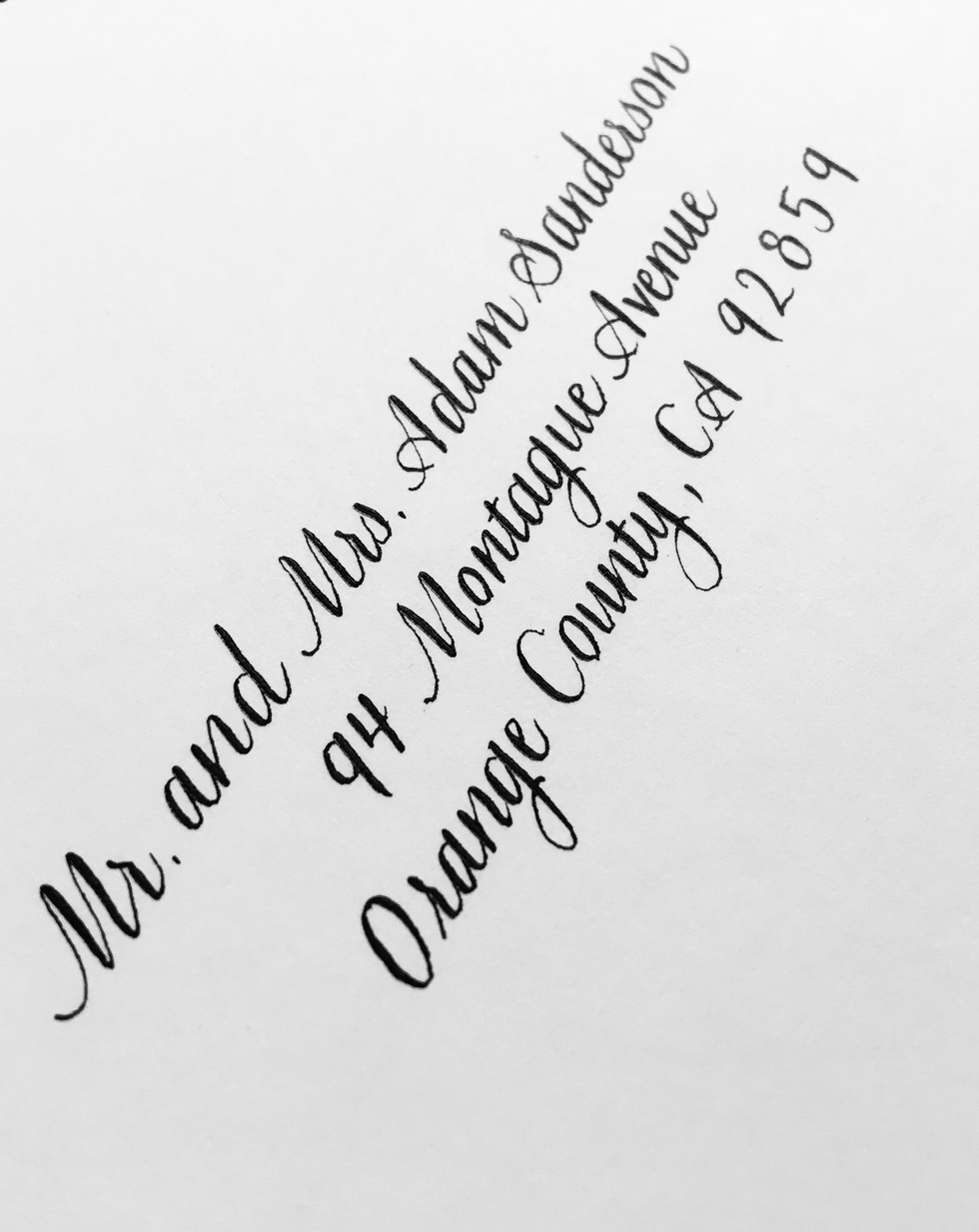 Simple Copperplate Font