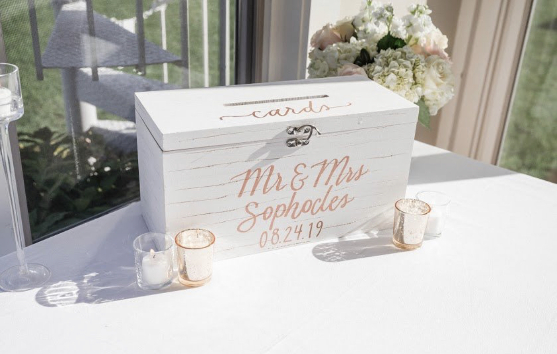 Custom Wedding Cards Box