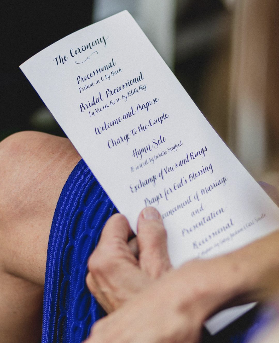 Custom Ceremony Programs