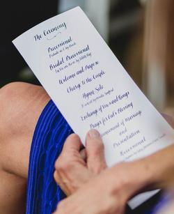 Custom Ceremony Programs