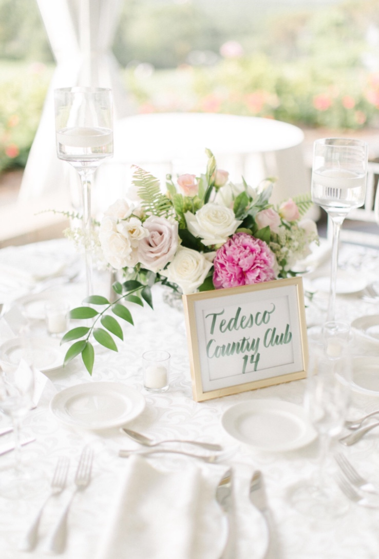 Wedding Table Names