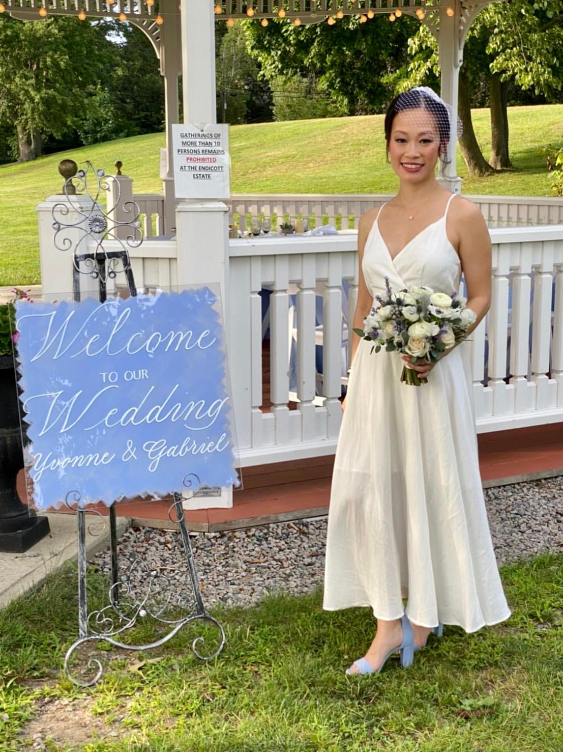 Bridal Wedding Sign (Alex Gordias Photog