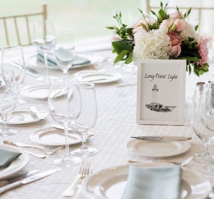 Custom Calligraphy & Illustration Table Names