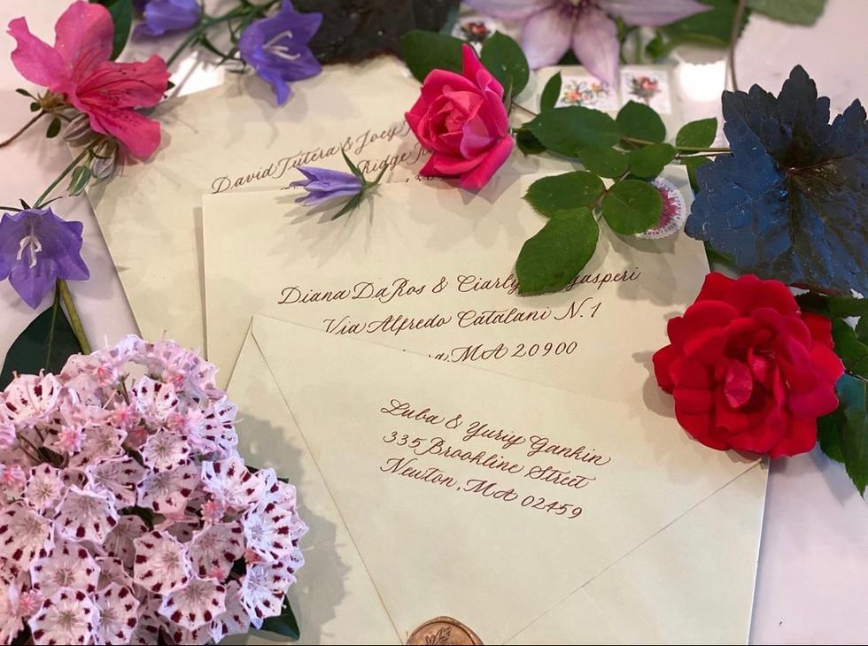 Anniversary Party Envelopes