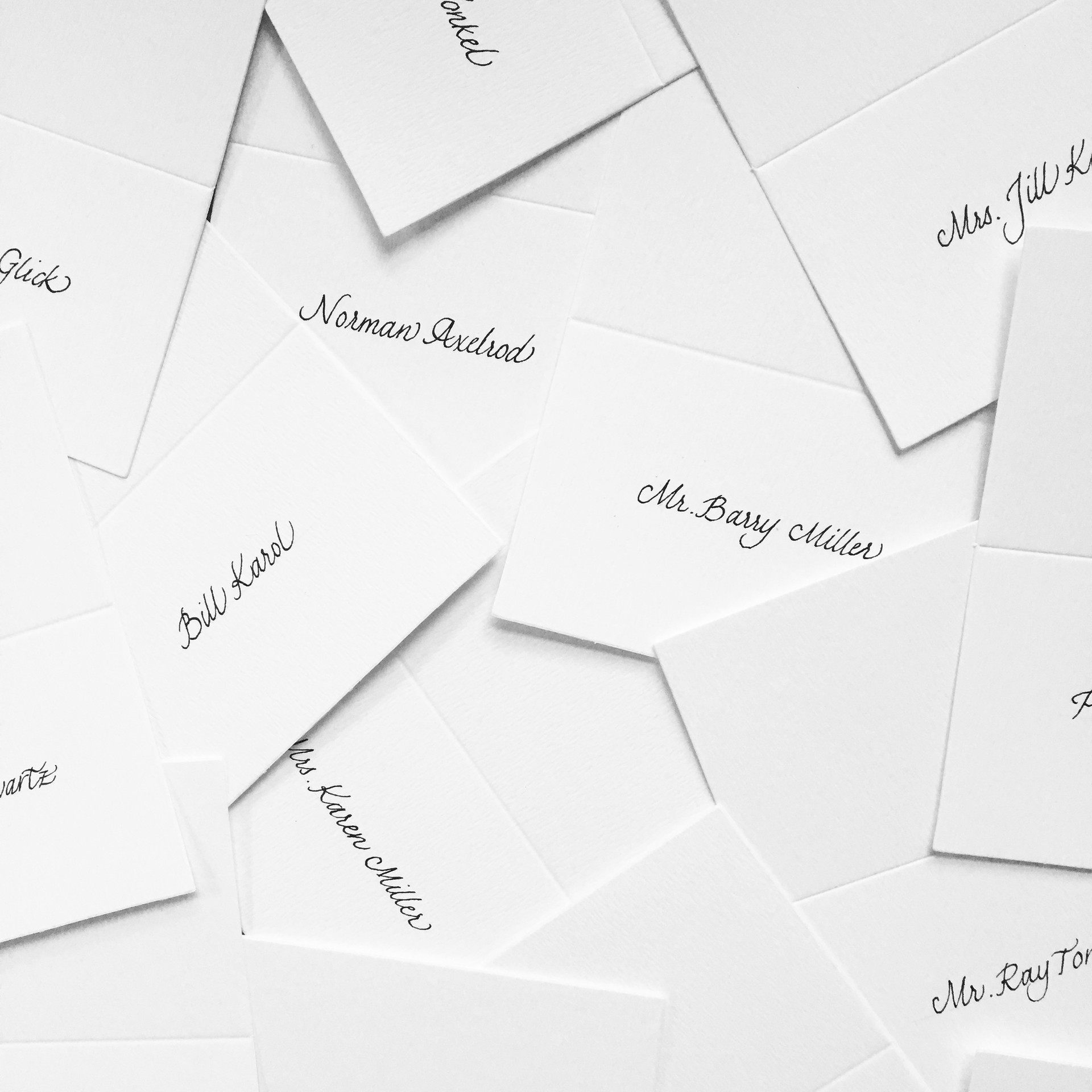Gala Place Cards