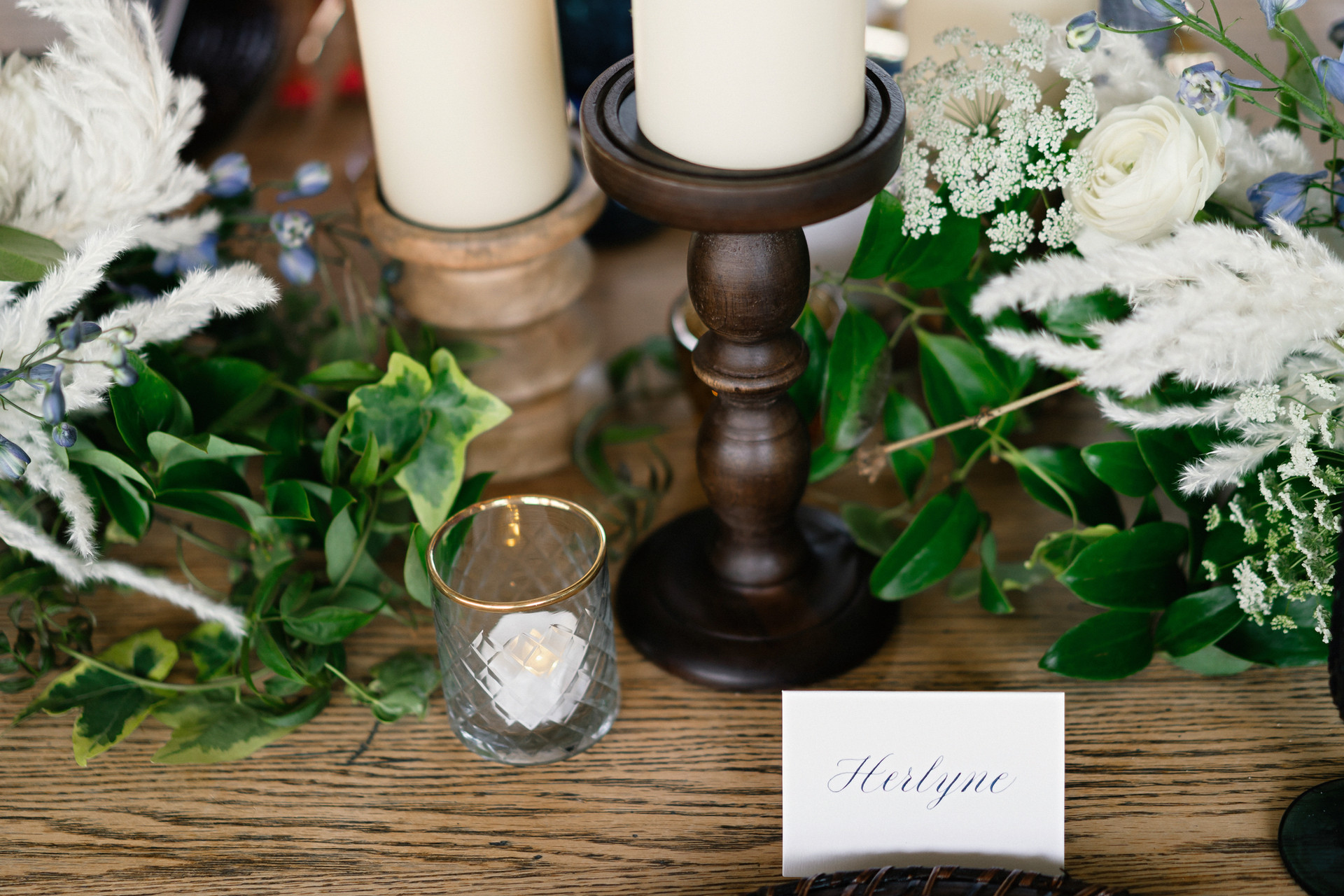 Copperplate Place Card
