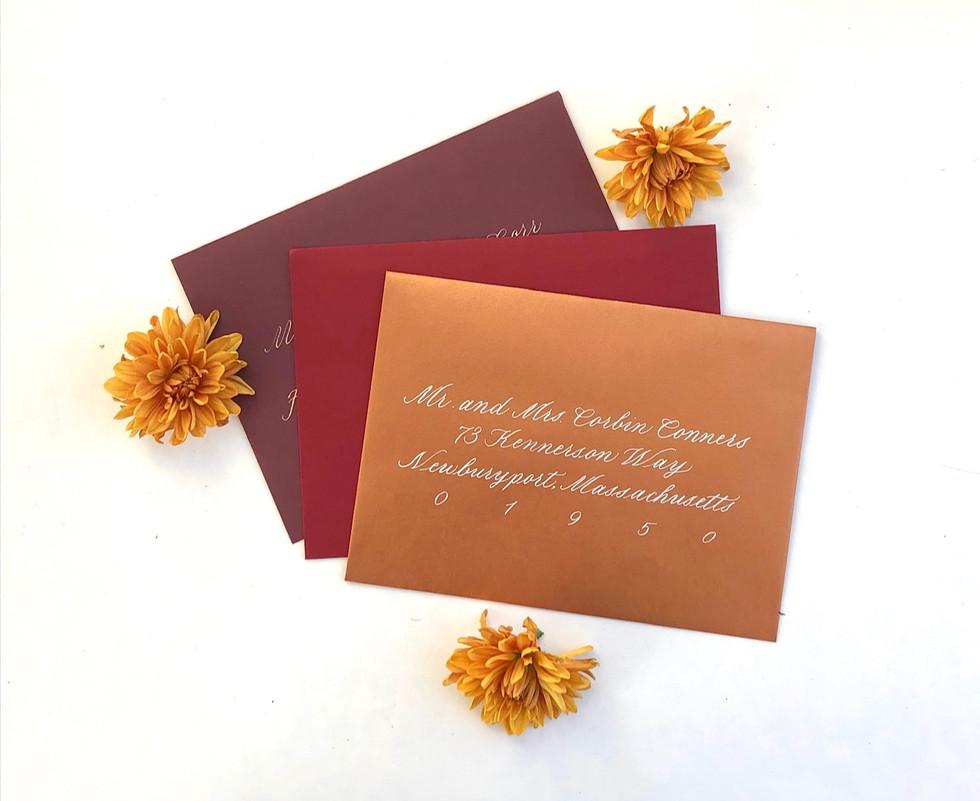 Autumnal Envelopes