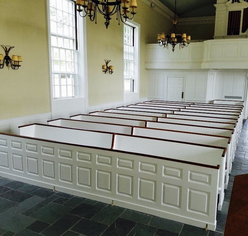 Refinished Church Pews, Millbrook