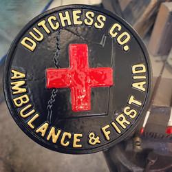 Antique Ambulance Plaque
