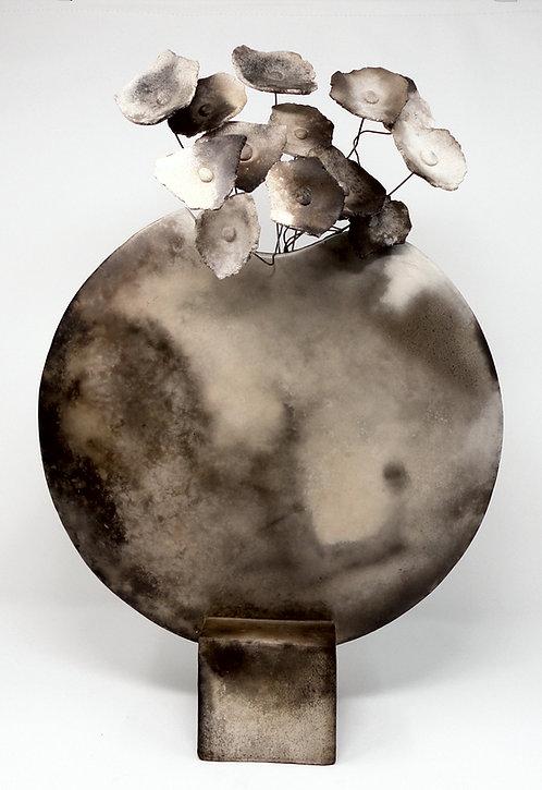 Vasenobjekt - Diskus, Rauchbrand, groß