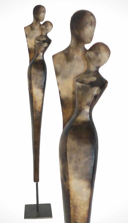 Dualis 1, Rauchbrand, 70 cm