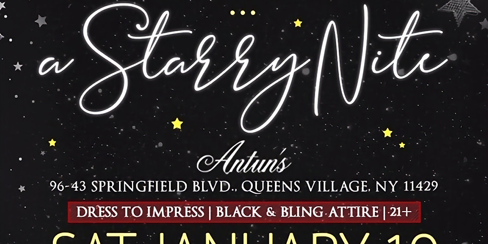30th Annual Winter Soiree: A Starry Night