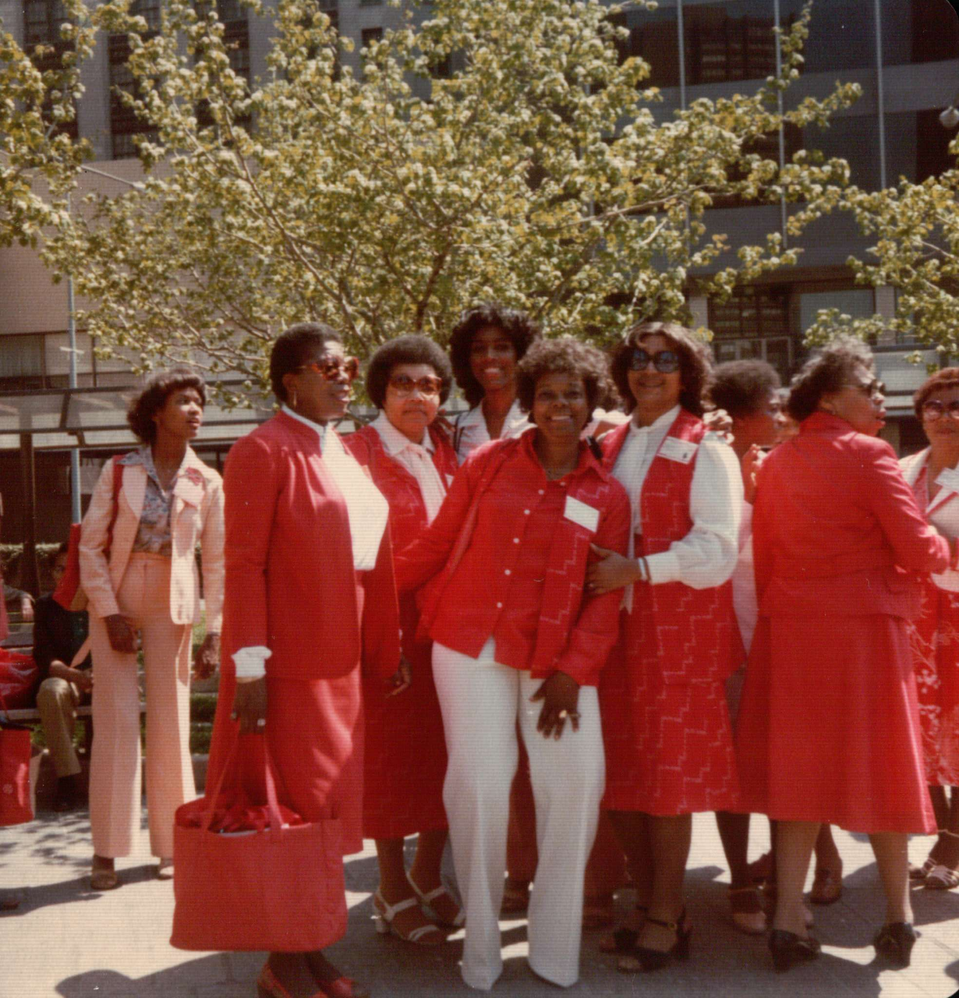Queens Alumnae Sisters at Regional Conference circa 1980