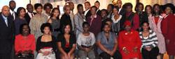 Scholarship luncheon recipients 2011