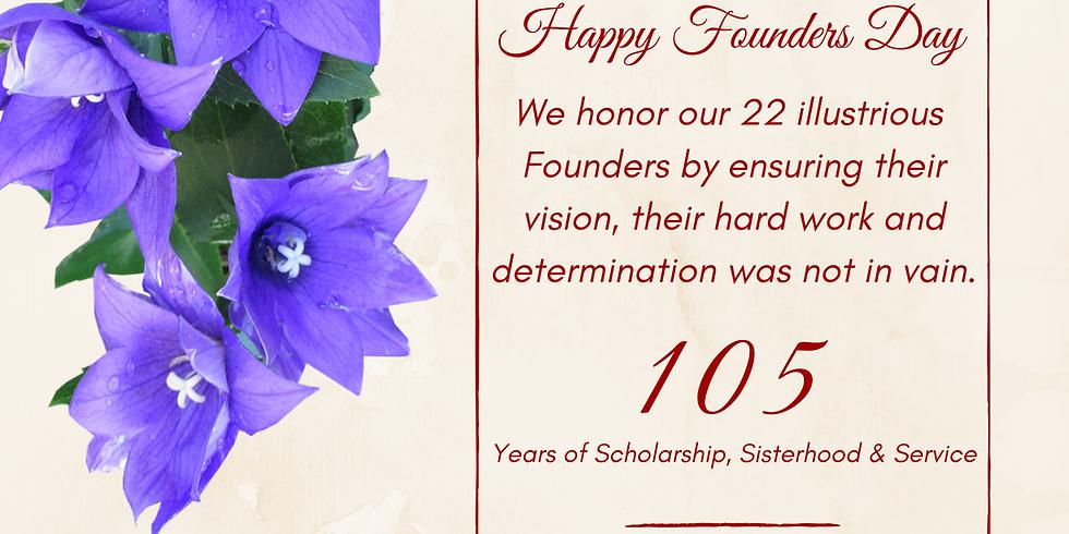 105th Founders Day of Delta Sigma Theta Sorority