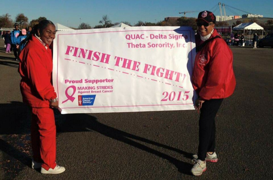 Making Strides Against Breast Cancer 2015