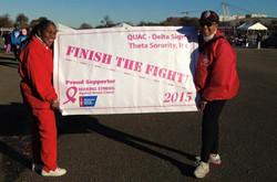 Making Strides Against Breast Cancer 2015