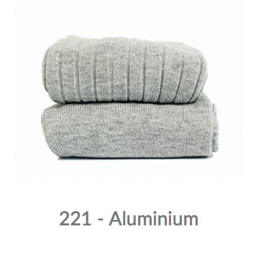 WIDE-RIB BASIC TIGHTS 221 aluminium