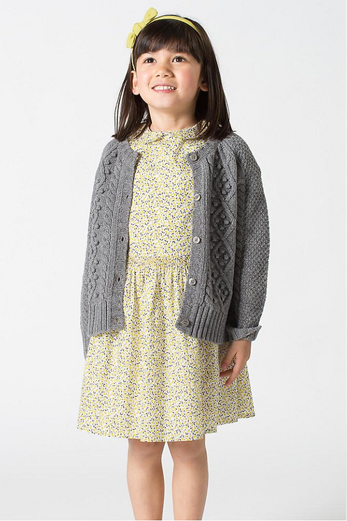 GEORGIA CARDIGAN GREY