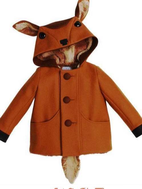 FROLICSOME FAWN COAT