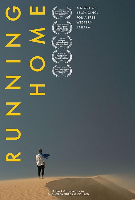 Running Home - Vimeo on Demand Poster.jp