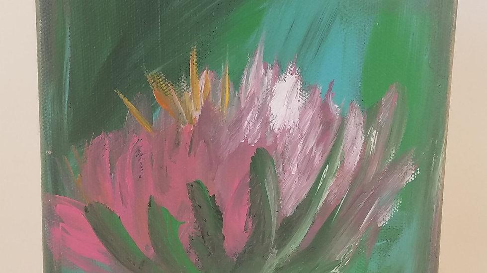 Owen's Delight. 6x6 painting