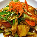 L.  Sweet and Sour Stir Fry