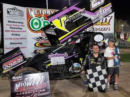 Arenz unstoppable in notching MSA Hagar Nelson Memorial victory