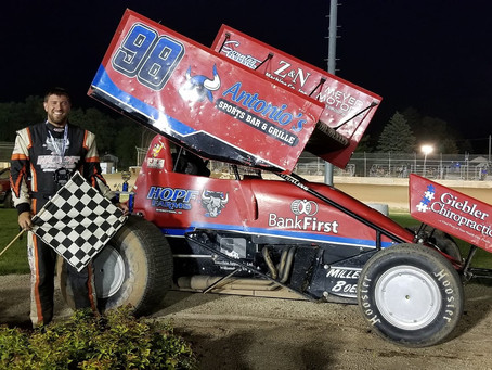McMullen racks up fourth PDTR 360 Sprint Car win of 2021 campaign