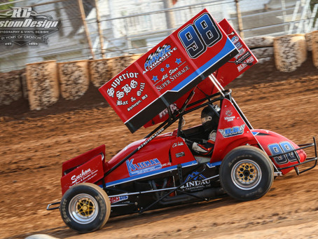 Multi-time champ McMullen shines bright at Plymouth Dirt Track