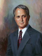 John F. Colquitt, President Fulghum Fibre Fuels Oil on Linen