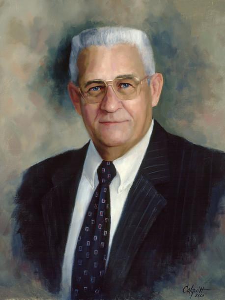 "James D. Mason Former Chairman, Georgia Ports Authority Collection Georgia Ports Authority Oil on Linen 24"" x 20"""