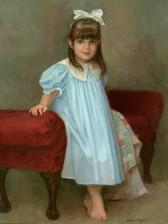 """Emily Ann Oil on Linen 36"""" x 28"""""""