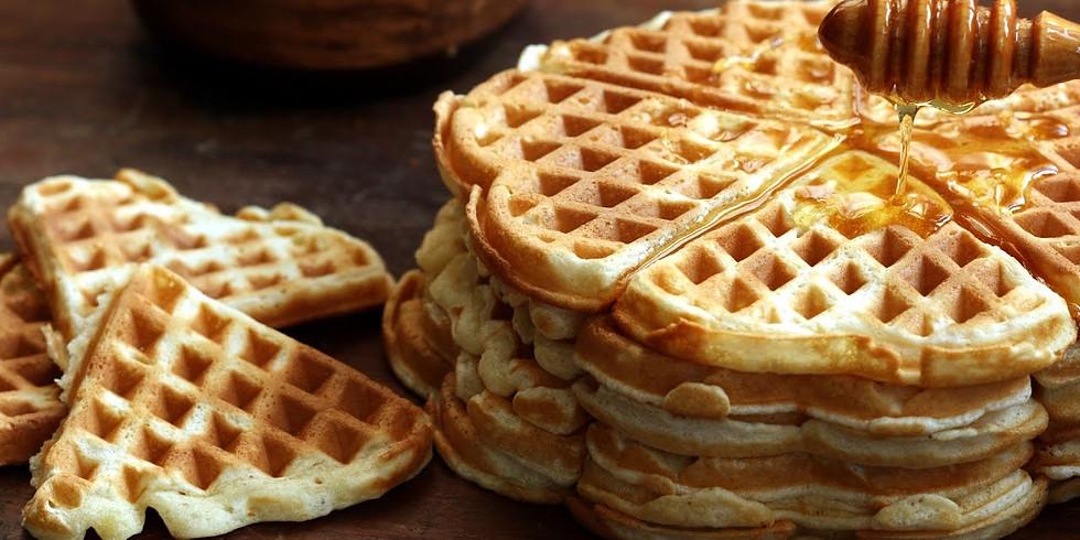 """Vegan """"Chicken"""" & Waffles"""
