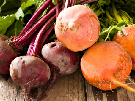We got the beet! And their greens!