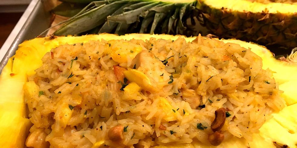 Chicken & Pineapple Baked Rice
