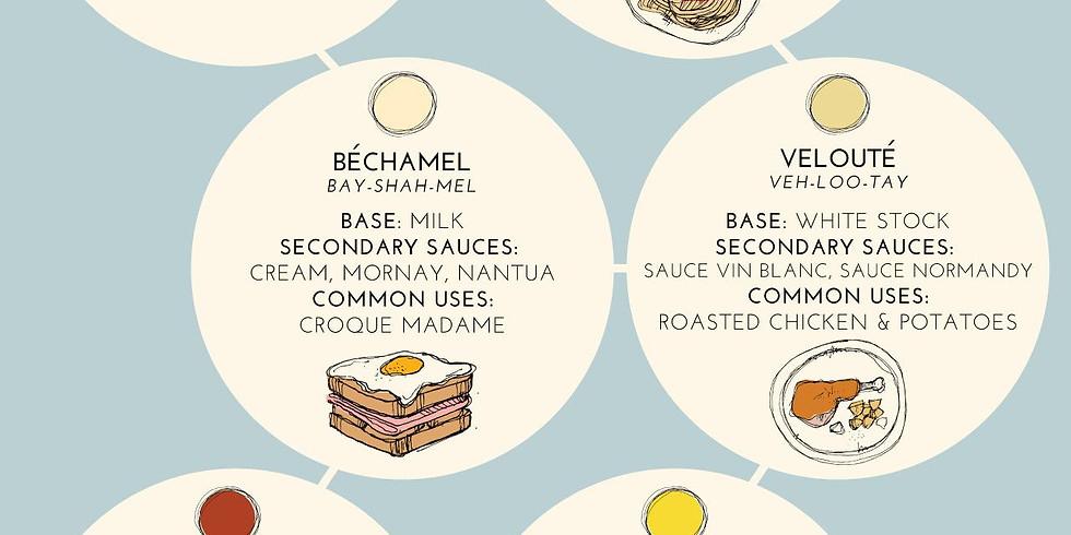 Sauce Class 2 - Bechemel, Mornay & Pesto