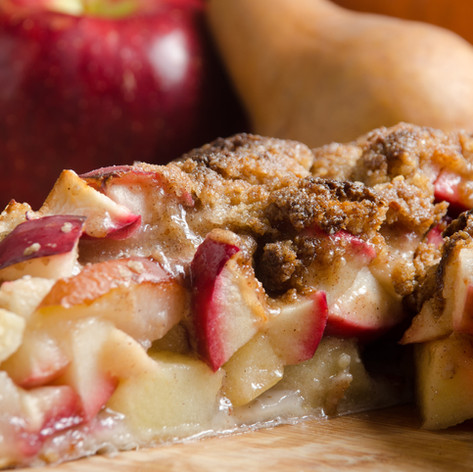 Apple Pear Crostata