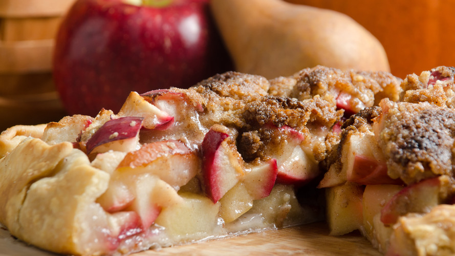 SRF kelly's apple pear crostata 2 with b