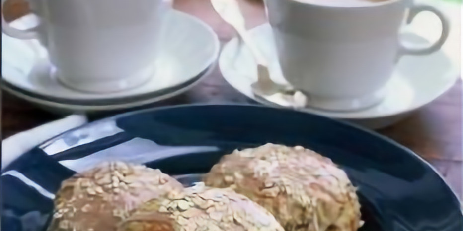Maple Oatmeal Scones - Baking
