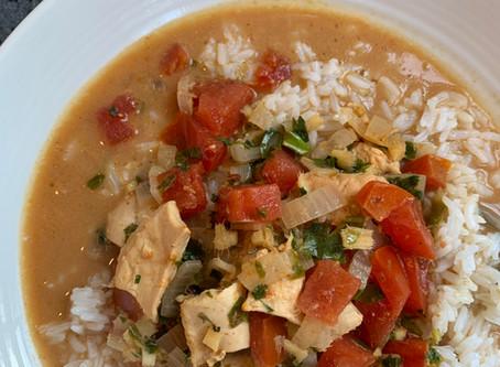 Thai Coconut Chicken Curry with D'vash Organics